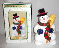 dayton hudson snowman cookie jar snowman cookie jars pinterest