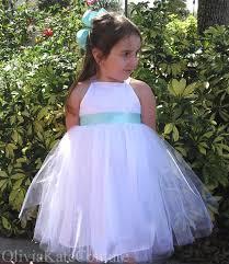 flower dresses by oliviakatecouture on etsy blog