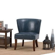 Leather Occasional Chairs Home Decorators Collection Accent Chair Chairs Living Room