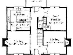 colonial floor plan center colonial floor plan floor ideas