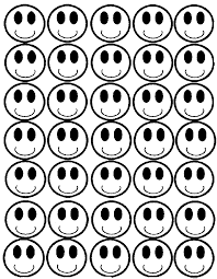number two smiley face colouring pages clip art library