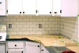 Installing Backsplash In Kitchen Subway Tile Kitchen Backsplash Subway Tile Kitchen Subway Tile