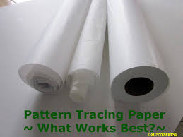 sunnysewing pattern tracing paper what works best pattern tracing paper what works best