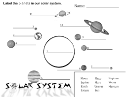 free printable picture solar system sergio u0027s classroom