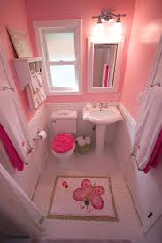 bathroom concept pink bathroom combination tiles simple color