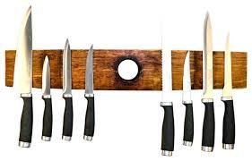 ganivet barrel stave magnetic knife holder rustic knife