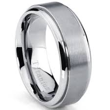ring titanium titanium men s rings for less overstock