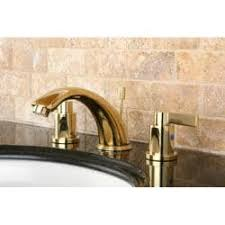 Brass Bathroom Faucet by Concord Double Handle Widespread Polished Brass Bathroom Faucet