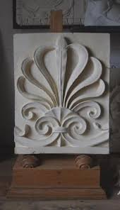 plaster casts of historical ornament for sale lassco three