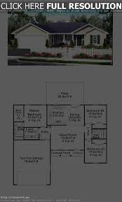 small low cost economical 2 bedroom bath 1200 sq ft single story
