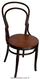 siege thonet les meubles thonet reconnaître facilement ce siège de bistrot