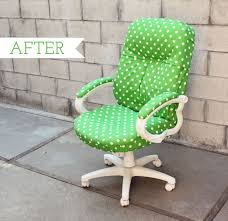 Colored Desk Chairs Design Ideas How To Transform A Boring Chair With Fabric And Lots Of Patience