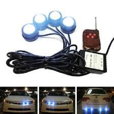 strobe lights for car headlights power eagle eye led strobe flash knight rider lighting kit