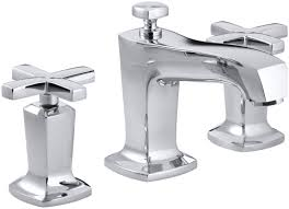 home decor tempting cross handle bathroom faucet combine with