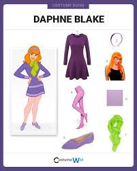 Daphne Blake Halloween Costume Dress Daphne Blake Costume Halloween Cosplay Guides