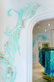hand painted wall detail at our newest lilly pulitzer store at hand painted wall detail at our newest lilly pulitzer store at coconut point in estero bedroom muralsbedroom wallgirls