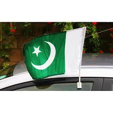 Car Window Flags Buy Pack Of 4 Car Window Flags Pak 017 Online In Pakistan