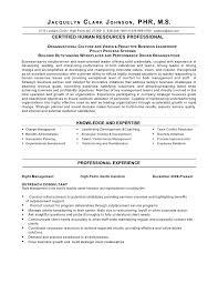sample hr executive resume hr manager resume