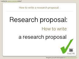 research paper proposal template undergraduate dissertation