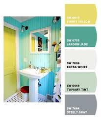 Bathroom Paint Schemes Buoyant Blue