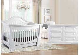 Gray Convertible Cribs by Baby Appleseed Davenport Convertible Crib In Pure White Kids