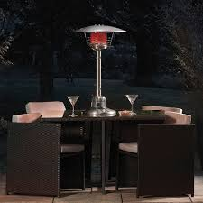 Full Length Patio Heater Cover by Garden Glow 4kw Table Top Gas Patio Heater Thompson U0026 Morgan