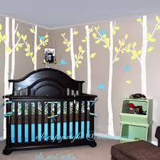 Bird Decor For Nursery Shop Birch Tree Wall Decal Nursery On Wanelo