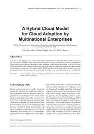 Universities As Multinational Enterprises The Multinational Information Systems For Multinational Enterprises Some