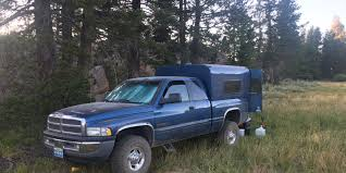 homemade truck cab here u0027s what u0027s great and not great about my diy truck camping setup