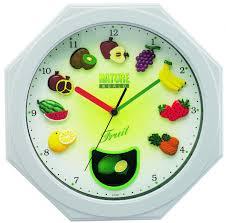 Pendules Murales Cuisine by Pendule Cuisine Moderne Gallery Of Uraqt Horloge Murale Moderne