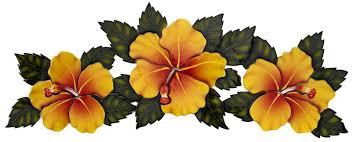 Yellow Hibiscus Flowers - ceramic yellow hibiscus flowers mosaic