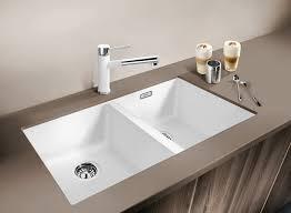 Kitchen Small Rectangular Undermount Sink With A Kitchen Sink Also - Porcelain undermount kitchen sink
