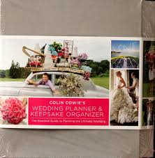 The Ultimate Wedding Planner Organizer Colin Cowie U0027s Wedding Planner U0026 Keepsake Organizer U2013 Scrapbookfare
