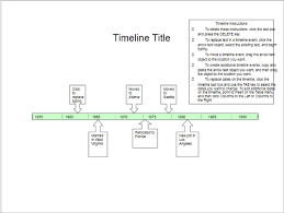 40 timeline templates free ppt excel word format creative