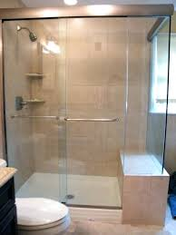 Glass Shower Doors Cost Frameless Shower Door Cost Dobroeutro