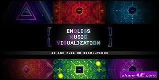 music visualizer free after effects templates after effects