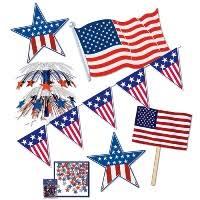 patriotic decorations patriotic party supplies memorial day decorations partycheap
