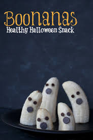 healthy kid snack for halloween boonanas