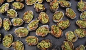 cuisiner des palourdes palourdes farcies de beurre au kari gosse cuisine de la mer