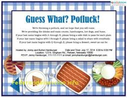 potluck email invitation template awesome fice thanksgiving potluck