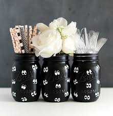 google eye mason jars for halloween mason jar crafts love