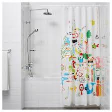 Curtain Rods U0026 Rails Ikea by Botaren Shower Curtain Rod White 120 200 Cm Ikea