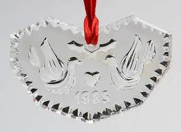 waterford annual ornament at replacements ltd
