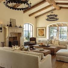 Mediterranean Paint Colors Interior Mediterranean Living Room Cathedral Ceiling Design Ideas