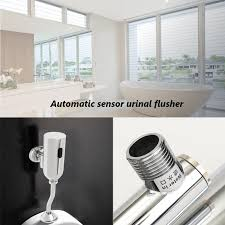 Automatic Bathroom Faucet by 1pc Luxury Sensor Urinal Automatic Flush Valve Brass Urinal Wall