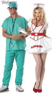 Bloody Nurse Halloween Costume Teentimes Halloween Costumes Theme Party Couples Matching