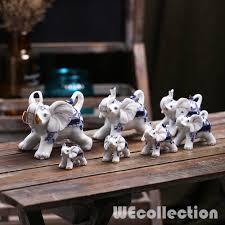 Home Decoration Statues Online Get Cheap Elephant Family Figurines Aliexpress Com