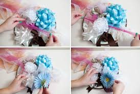 bridal shower plate how to make a bridal shower bow bouquet easy steps