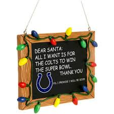 indianapolis colts decorations gift bags ornaments