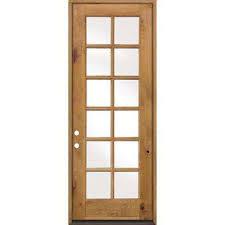 Exterior Back Door 12 Lite Front Doors Exterior Doors The Home Depot